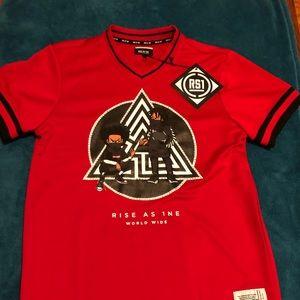 Red T-shirt Boondocks Men